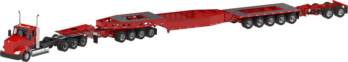 Heavy Haul Custom Trailers